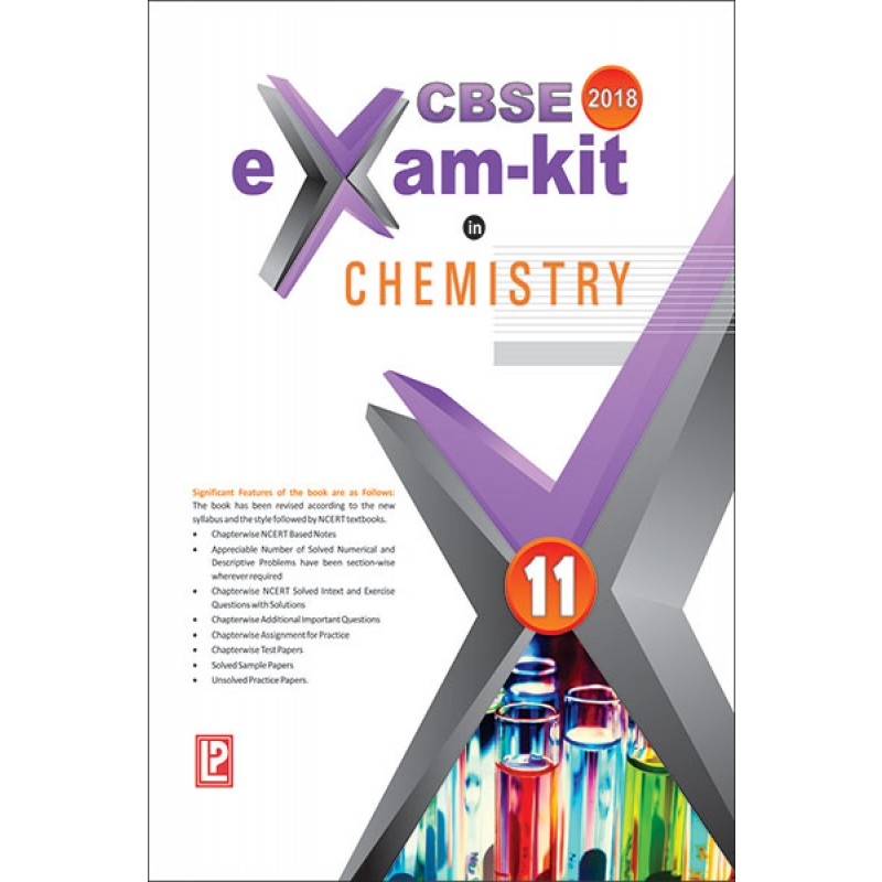 Exam Kit in Chemistry for Class 11 by Laxmi Publications (2019)