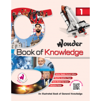 Doublew Education Wonder Book of Knowledge for Class 1