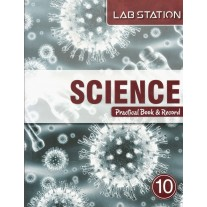 Harbour Press Lab Station Science Practical Book & Record for Class 10