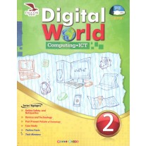 Falcon Digital World Computing ICT for Class 2 by Rahul Ghosh