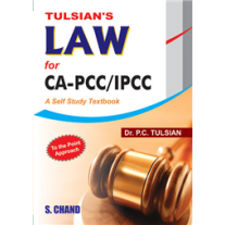 S Chand Tulsian's Law for CA-PCC/IPCC