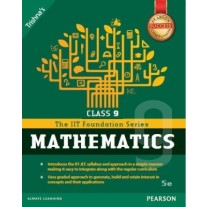 Pearson IIT Foundation Series Mathematics for Class 9
