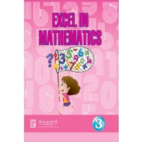 Laxmi Excel in Mathematics Texbook for Class 3 by Leela Muraleedharan