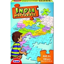 Frank India Map Puzzles