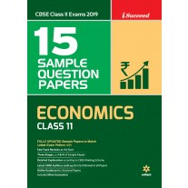 Arihant CBSE I-Succeed 15 Sample Question Papers Economics Class 11