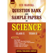 APC CCE Manual Question Bank and Sample Papers in Science (Term-2) for Class 10