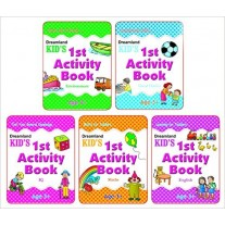 Dreamland Kid's Activity Age 3+ (Pack of 5 Books)