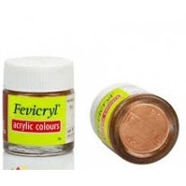 Hobby Ideas Fevicryl Acrylic Colours Powder - Copper 10g