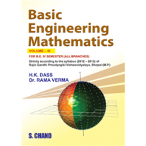 S Chand Basic Engineering Mathematics Vol-III by HK Dass & Rama Verma