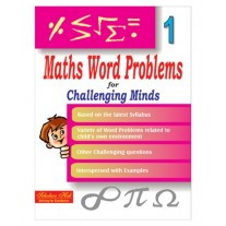 Scholars Hub Maths Word Problem for Challenging Minds for Class 1 by Mridula Somayajulu