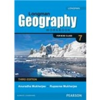 Pearson Longman Geography Workbook (ICSE)  for Class 7