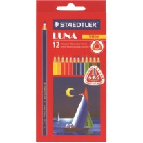 Staedtler Water Colour Pencils 12 Shades Luna (Code 137 C12 ABS)