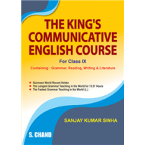 S Chand The King's Communicative English Course for Class 9