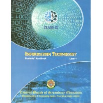 CBSE Information Technology NSQF Level 1 Student's Handbook for Class 9 (With Binding)