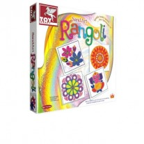 Toy Kraft Sand Art Rangoli Making Set