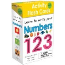 Wipe Clean: Activity Flash Cards (Learn To Write Numbers) by Priddy Books