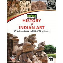 Full Marks History of Indian Art Textbook for Class 11