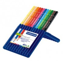 Staedtler Ergosoft Colour Pencils Set of 12 in Staedtler Box