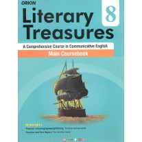 Orion Literary Treasures Main Coursebook of English for Class 8 by Deepa Wadhwa