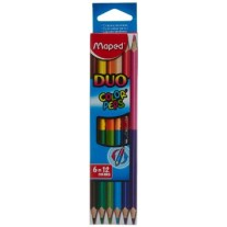 Maped Colour Pencils Duo 6 Shades (829610)