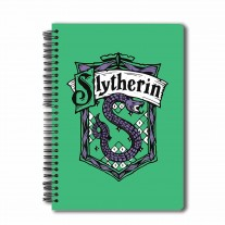 Harry Potter Slytherin Wiro Notebook A5 Licensed By Warner Bros,USA