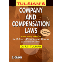 S Chand Tulsian's Company and Compensation Laws