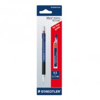 Staedtler Mechanical Pencil 0.5 with 1 Pack Lead Free (775 5 ABK25D)