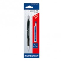 Staedtler Graphite Mechanical Pencil 0.7mm with 1 Pack Lead Free (779 7 ABK25D)