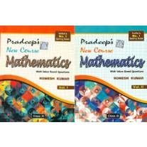 Pradeep's New Course Mathematics for Class 11 (Set of 2 Volumes)