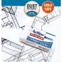 Artline Examate Dust Free Eraser (Box of 20 Pcs)
