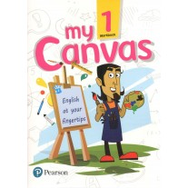 Pearson My Canvas Workbook for Class 1
