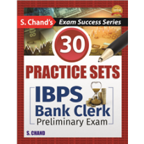 S Chand IBPS Bank Clerk Preliminary Exam (2017)