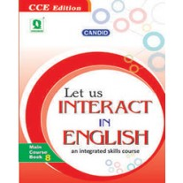 Evergreen Candid Let Us Interact In English Textbook for Class 8