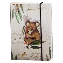 Nightingale Animal Series Notebook (Size A6) Pages 192 (Ruled) Design D