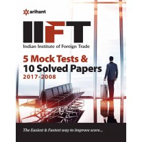 Arihant IIFT (Indian Institue of Foreign Trade) 5 Mock Tests and Solved Papers