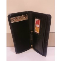 Documents and Cheque Book Zipper Organizer (Leatherite) Code-1228