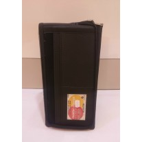Documents and Cheque Book Zipper Organizer (Leatherite) Code-1222