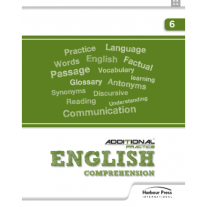Harbour Press Additional Practice English Comprehension for Class 6