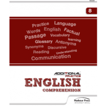 Harbour Press Additional Practice English Comprehension for Class 8