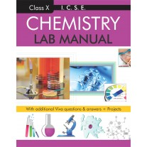 Rohan ICSE Lab Manual Chemistry for Class 10