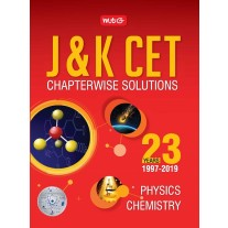 MTG J&K CET 23 Years Chapterwise Solutions For Physics and Chemistry