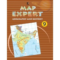 Tarun Map Expert (Geography & History) for Class 9