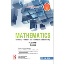 Comprehensive Mathematics Volume 1 & 2 for Class 10 by Laxmi Publications