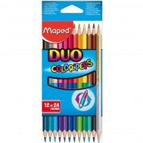 Maped Colour Pencils Duo 24 Shades (829600)