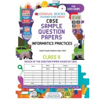 Oswaal CBSE Informatics Practices Sample Question Papers for Class 11 (2021)