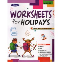 Rohan Worksheet for Holidays Revise What You Have Learnt for Class Nursery