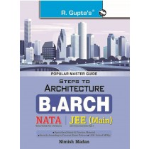 RPH Steps to Architecture (NATA) B. Arch Entrance Exam Guide (R-1752) - 2019