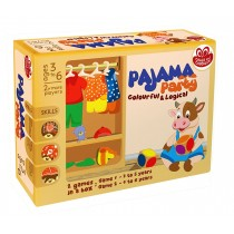 Chalk & Chuckles Pajama Party Colourful And Logical (CCPPL023)