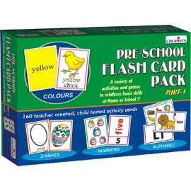 Creative Educational Aids Pre-School - Flash Card Pack (0512)
