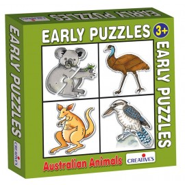 Creative Educational Aids Early Puzzles - Australian Animals (0759)